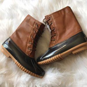 Sporto | the original women tan brown duck boot